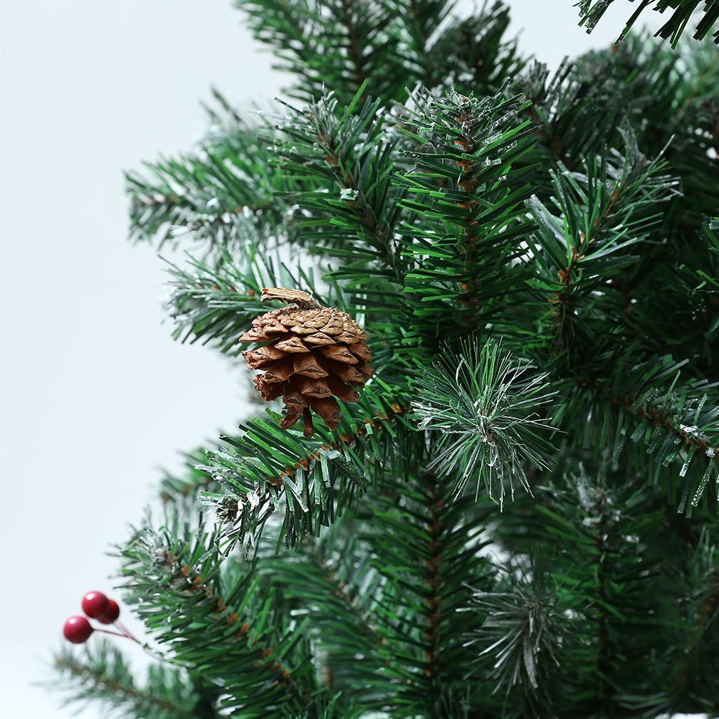 Christmas Tree Needles: 7ft Artificial Pine Needles Snow, Pine Cone,berry