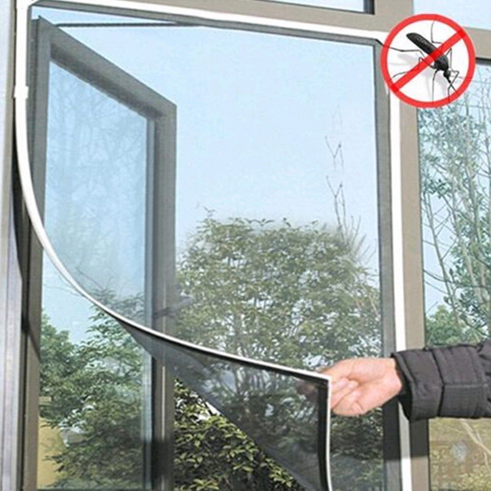 Hands Free Magic Mesh Screen Net Door with magnets Anti Mosquito Curtain DS