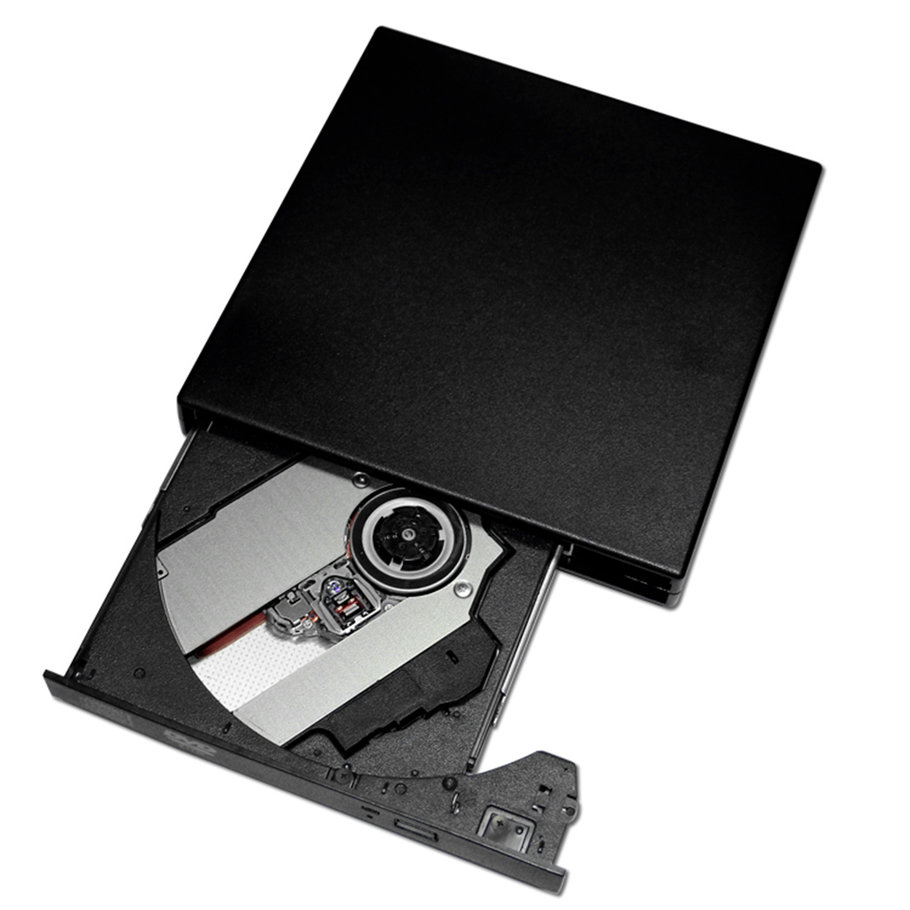 thin external usb 2 0 cd dvd rw rom drive player for. Black Bedroom Furniture Sets. Home Design Ideas