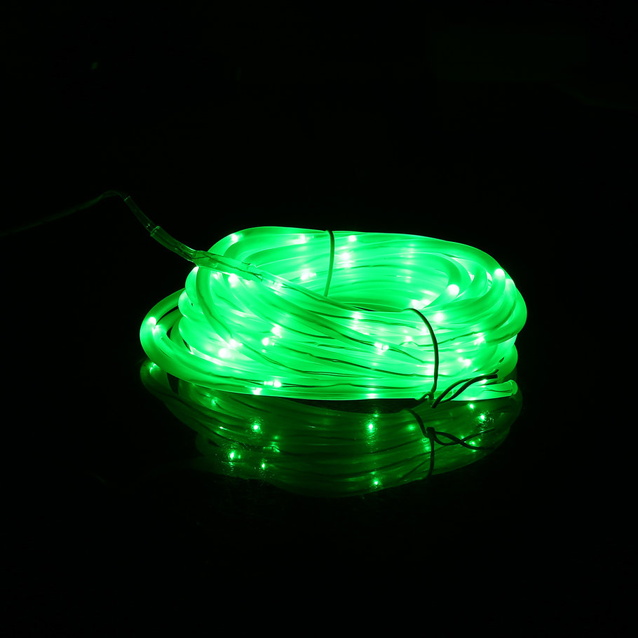 Solar String Lights Indoor : 7m 50 LED 4*6MM Solar Powered Indoor Outdoor Copper Wire Lamp String Light SM