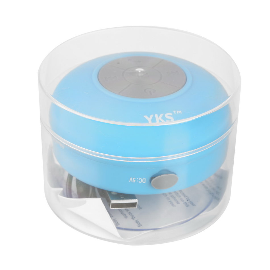 Mini Waterproof Wireless Bluetooth Speaker Shower Hands-free Suction In-car