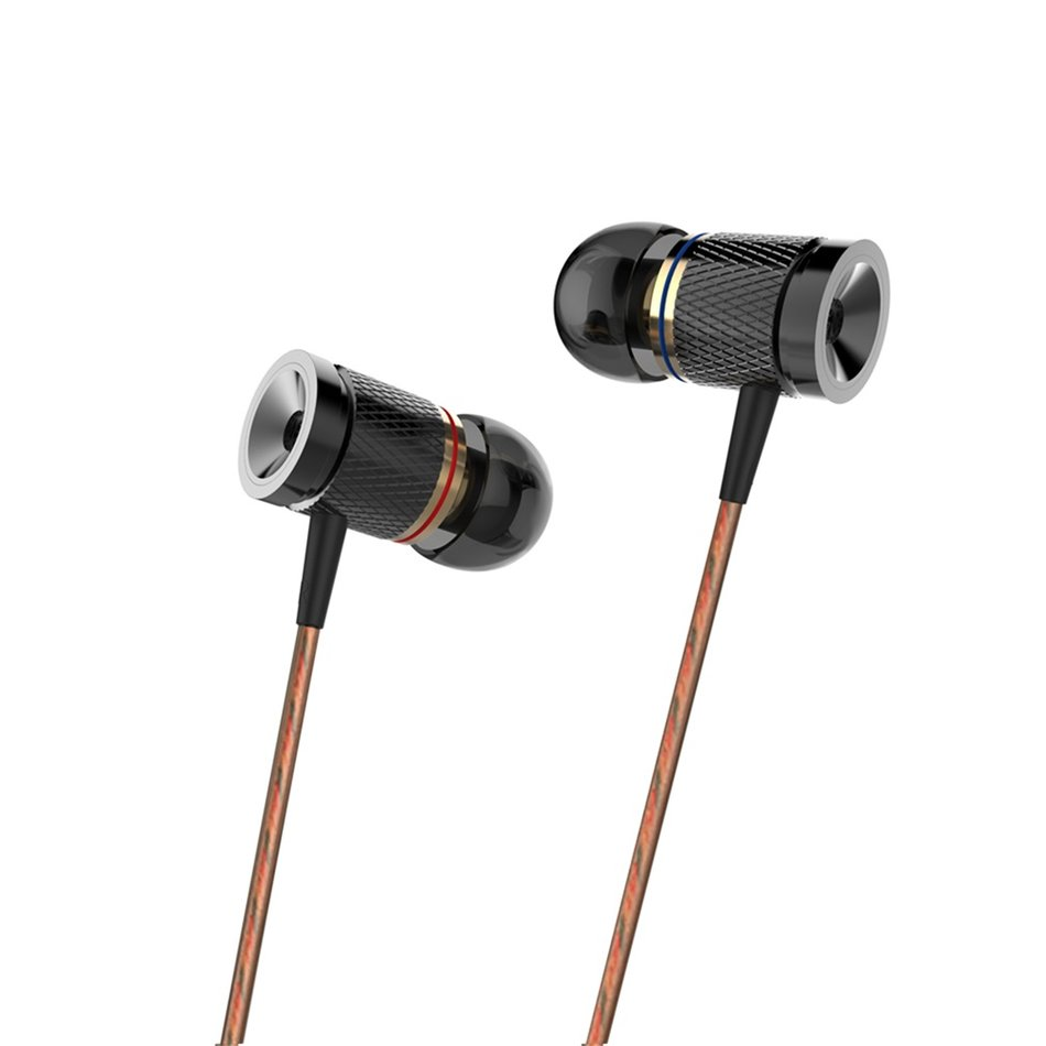 Earphones extra bass - wired magnetic earphones