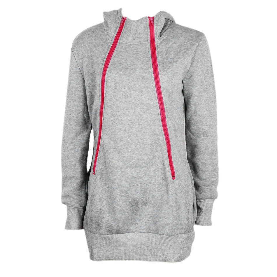 Fashion Maternity Mom Pregnant Women Carry Baby Hoodies ...