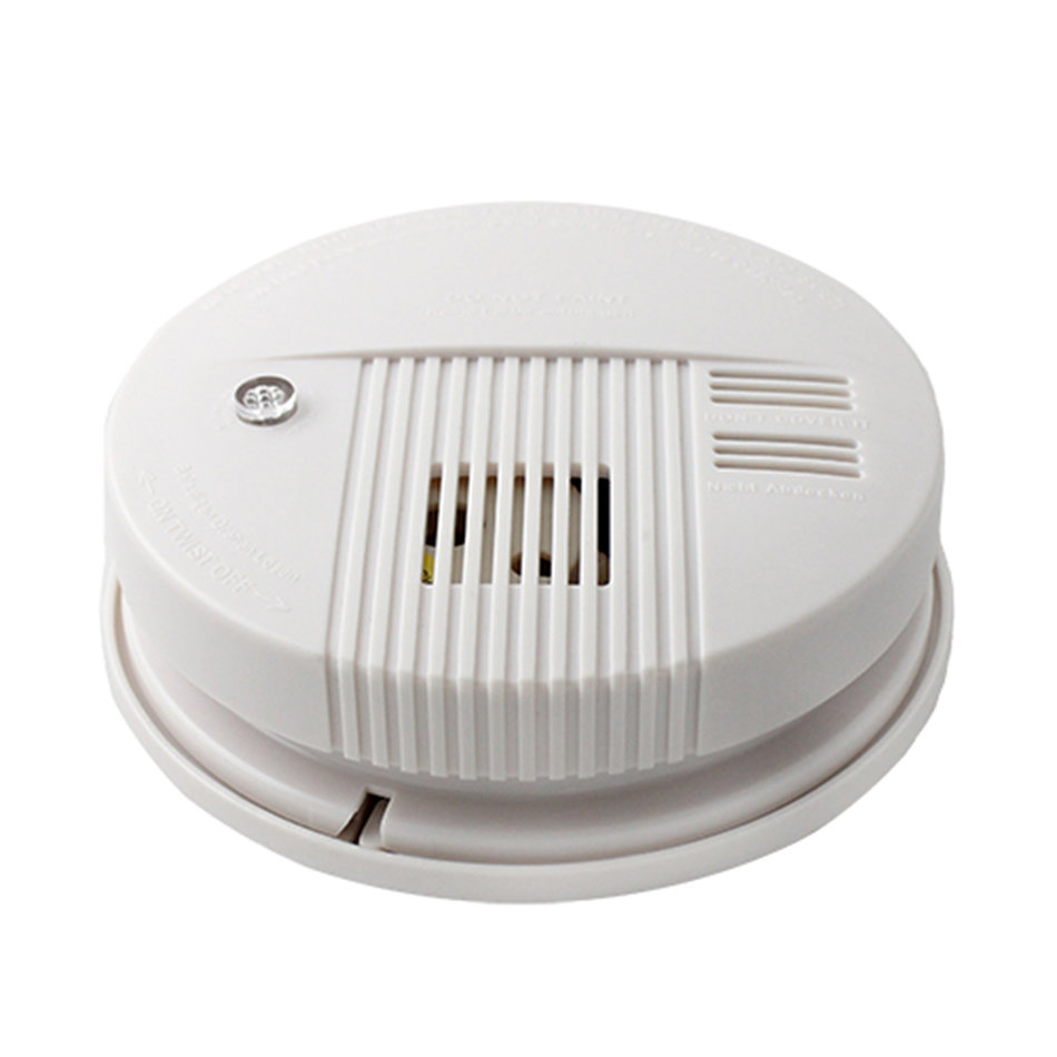 portable wireless interconnected photoelectric smoke detector ls 828 14ad zm. Black Bedroom Furniture Sets. Home Design Ideas