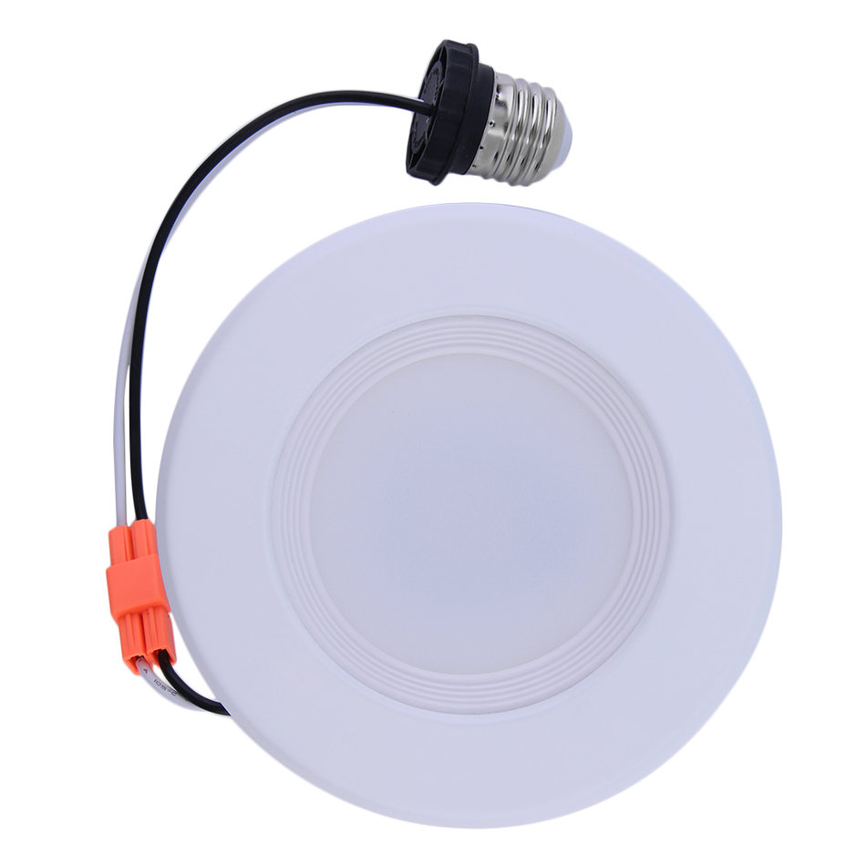 Led Recessed Ceiling Lighting Kit : New downlight trim w led recessed dimmable inch