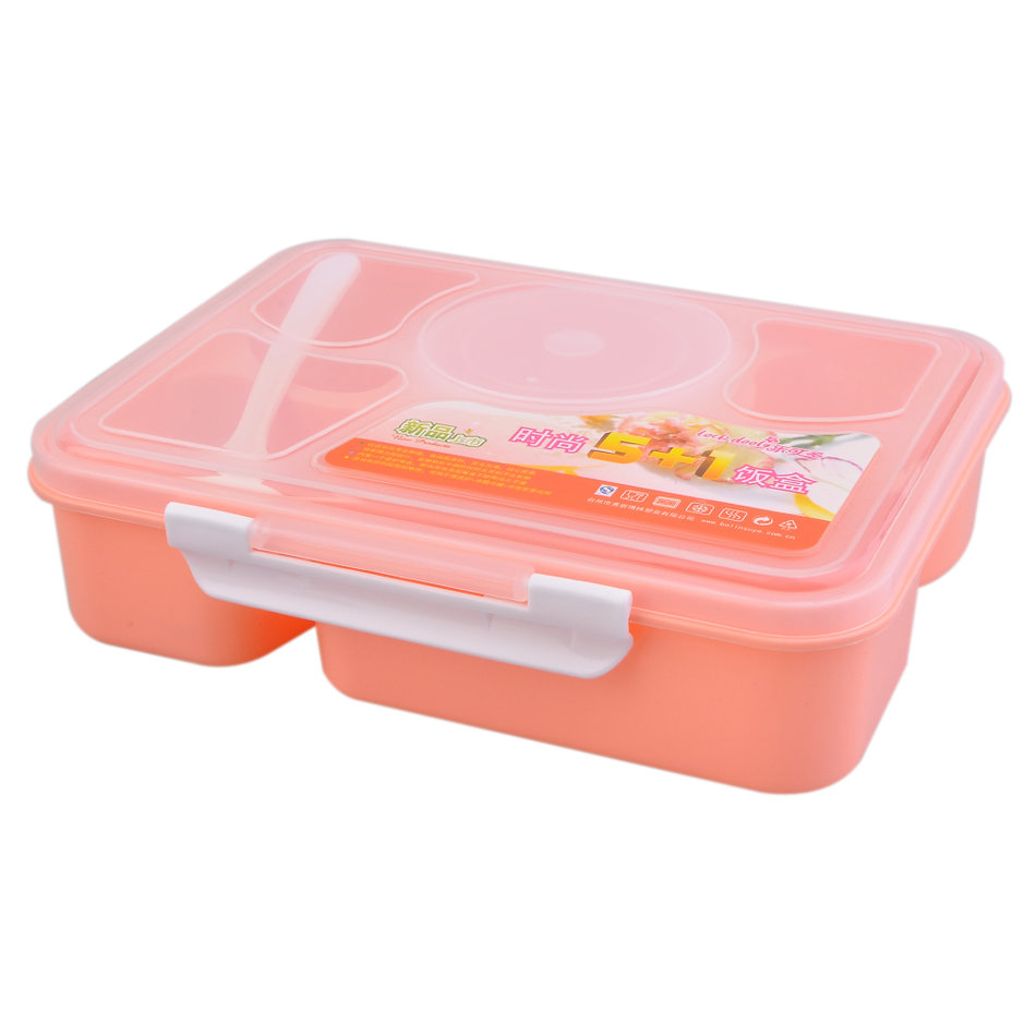portable microwave lunch box for kids 5 1 food container plastic food box ve ebay. Black Bedroom Furniture Sets. Home Design Ideas