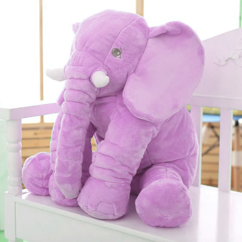 Stuffed Animal Cushion Kids Baby Sleeping Soft Pillow Toy Cute Elephant ZD eBay