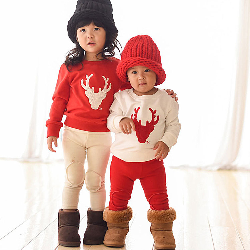 family look deer and me clothes matching