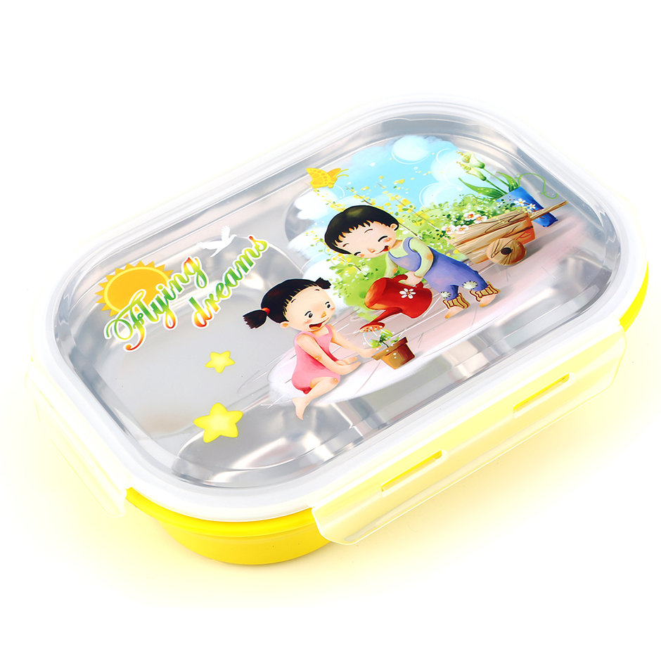 5 layers children bento lunch box food fruit picnic. Black Bedroom Furniture Sets. Home Design Ideas
