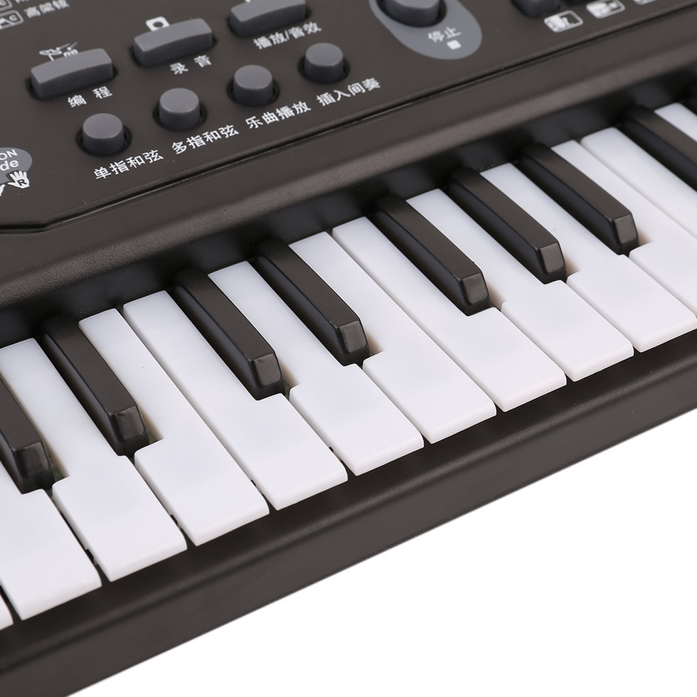 61 keys digital music electronic keyboard board toy gift electric piano be. Black Bedroom Furniture Sets. Home Design Ideas