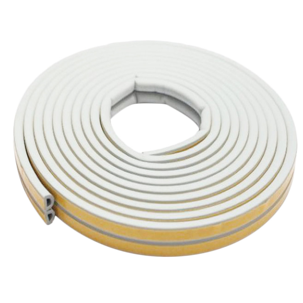 12m Foam Draught Excluder D Type Seal Strip Insulation For