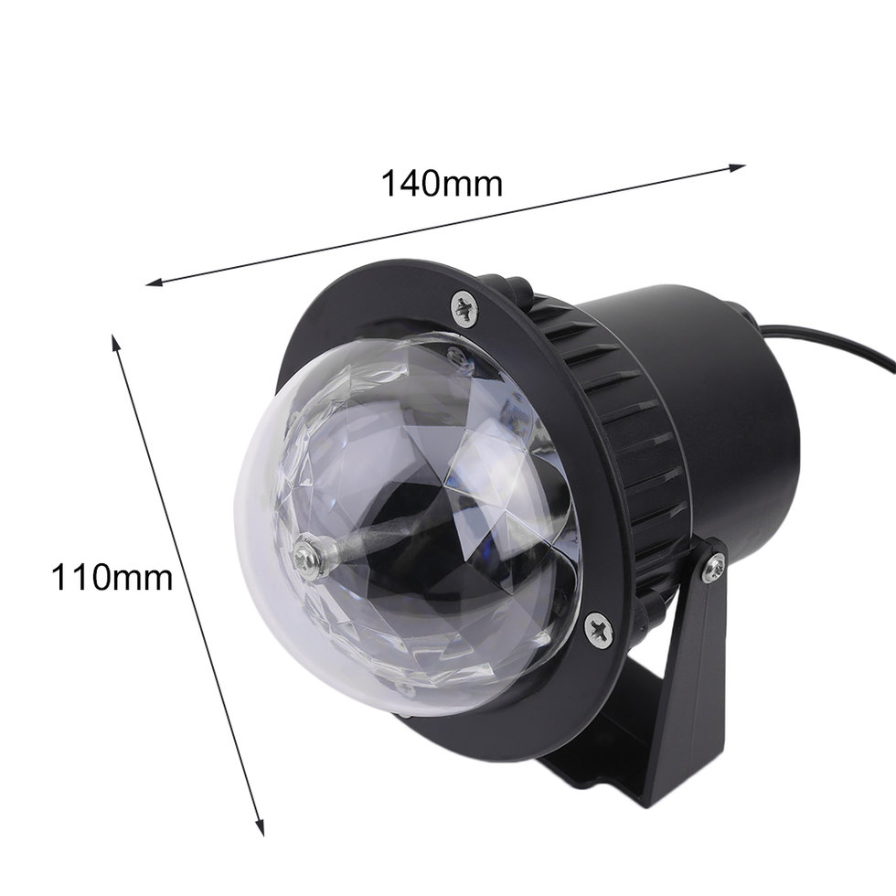 Remote Rgb Led Water Wave Ripple Effect Stage Light