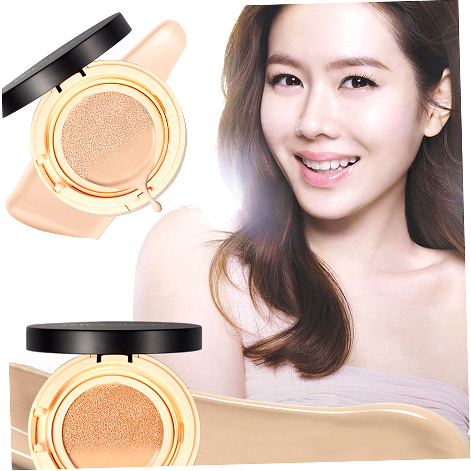 Moisturizing Isilandon Natural Color/Ivory White Air Cushion BB Cream 15g F1