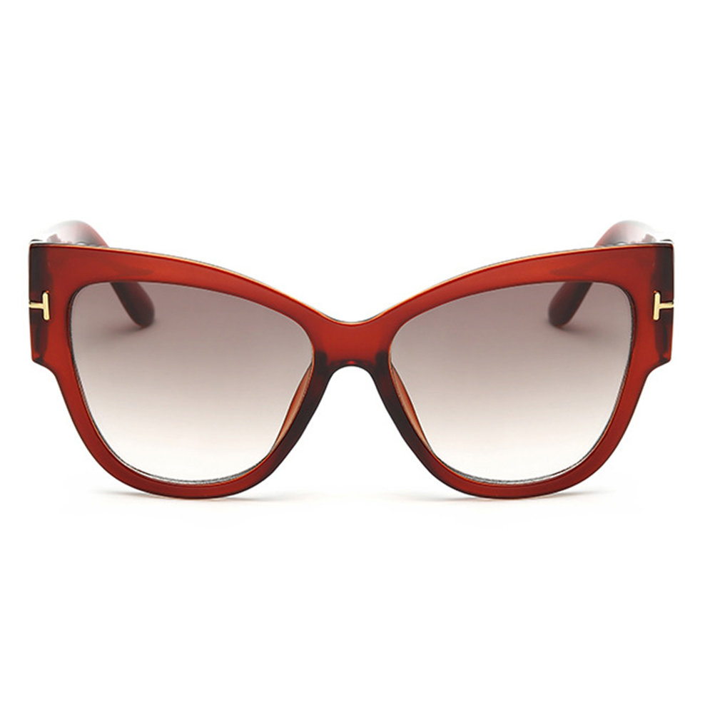 Big Frame Sunglasses : New Stylish Womens Ladies Fashion Vintage Cat-Eye Big ...