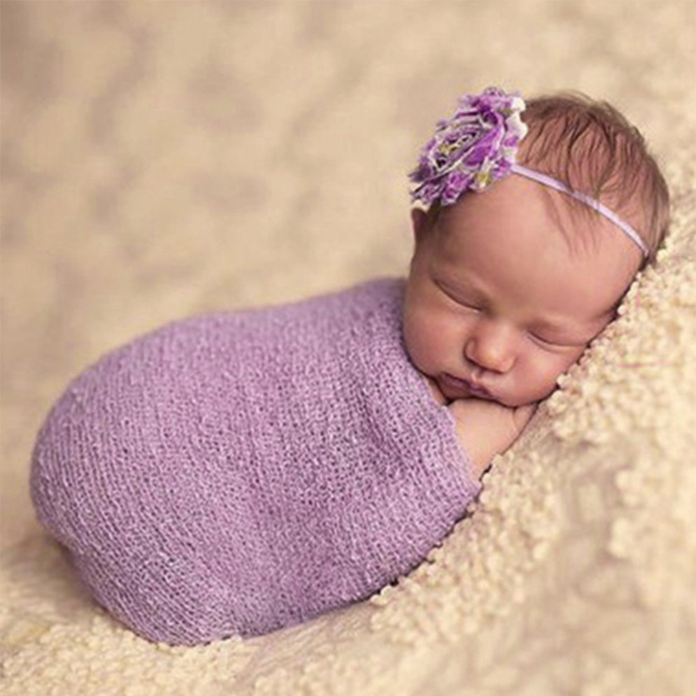 Knitting Patterns For Newborn Photography Props : Newborn Baby Photography Props Blanket Rayon Stretch Knit ...