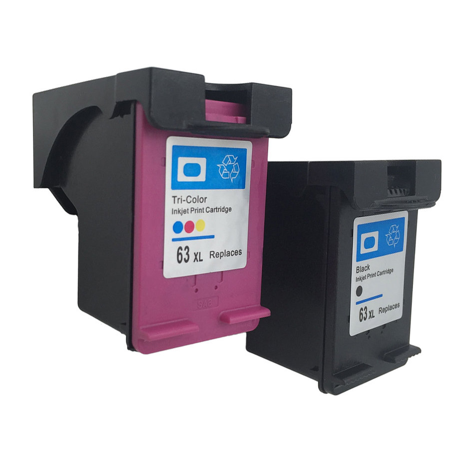 High quality Ink Cartridge for HP 63 XL for HP 63 ...