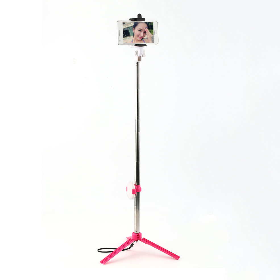 high quality bluetooth cell phone selfie stick monopod tripod for iphone a ebay. Black Bedroom Furniture Sets. Home Design Ideas