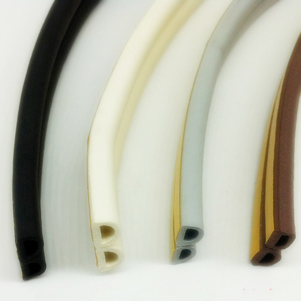 12m foam draught excluder d type seal strip insulation for for Door insulation