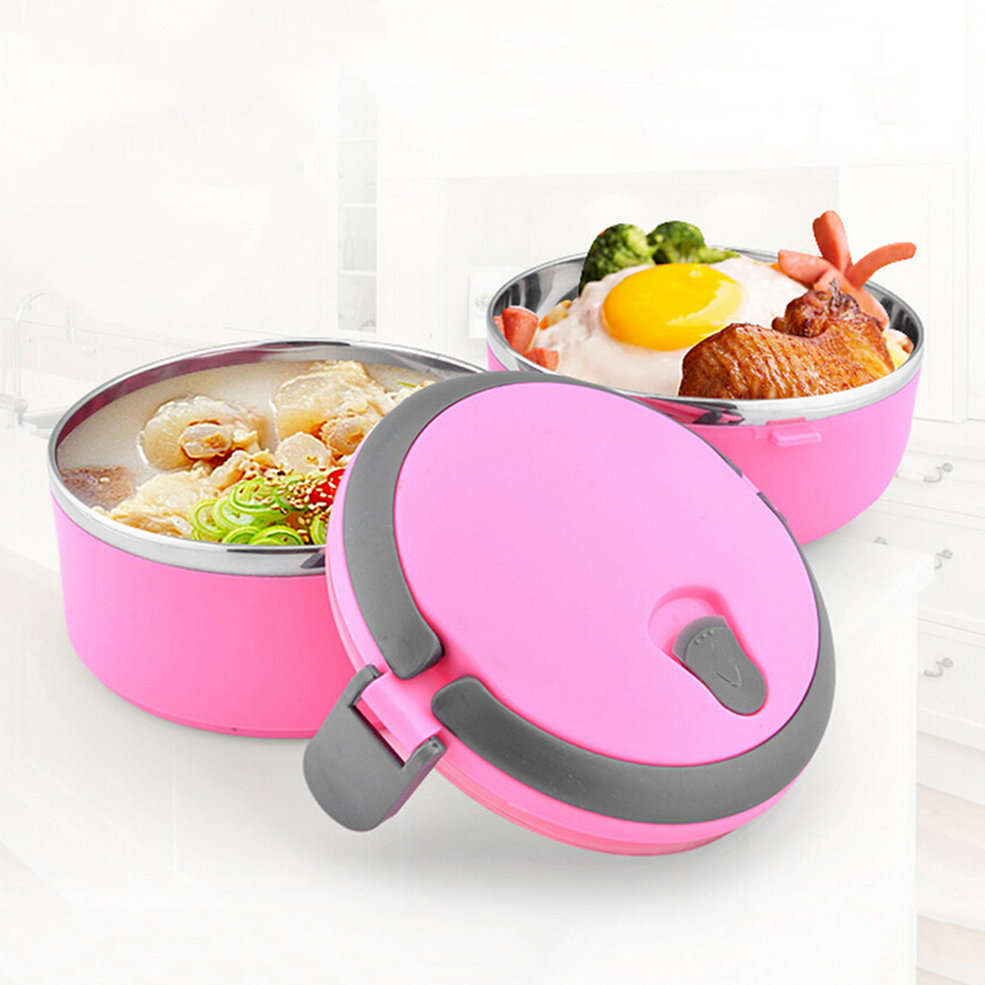 thermal insulated lunch box bento picnic storage mess tin food jar camping oe ebay. Black Bedroom Furniture Sets. Home Design Ideas