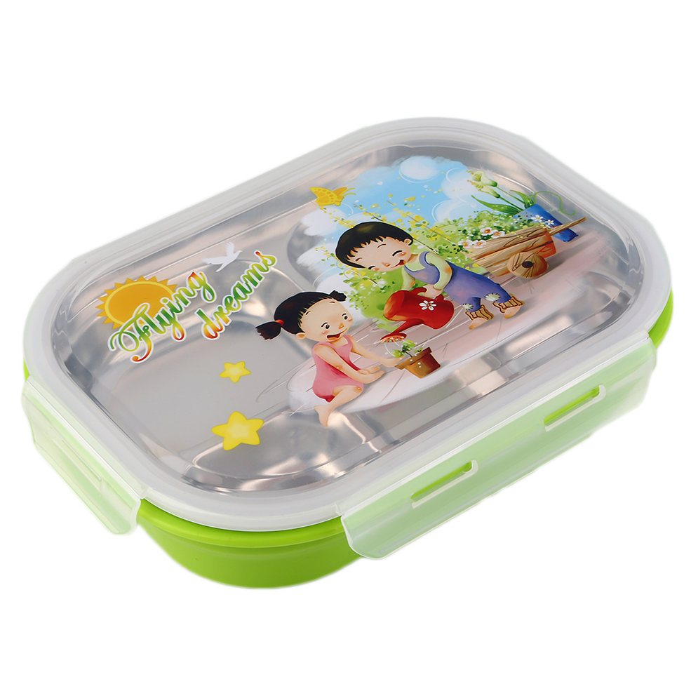 5 layers children thermos bento lunch box food fruit. Black Bedroom Furniture Sets. Home Design Ideas