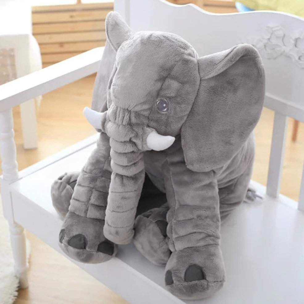 Animal Cushion Kids Baby Sleeping Soft Pillow Toy Cute Elephant Stuffed #T eBay