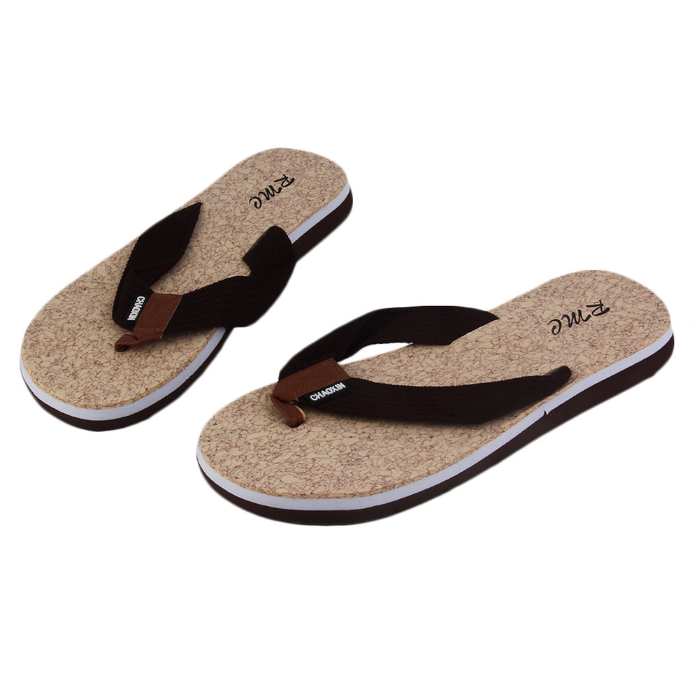 casual mens anti skid flip flops leisure summer cool. Black Bedroom Furniture Sets. Home Design Ideas