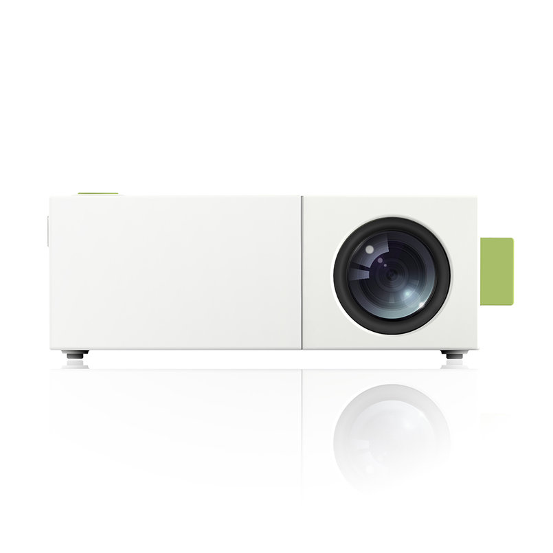 Yg310 home office portable projector lcd movie theatre for Portable movie projector
