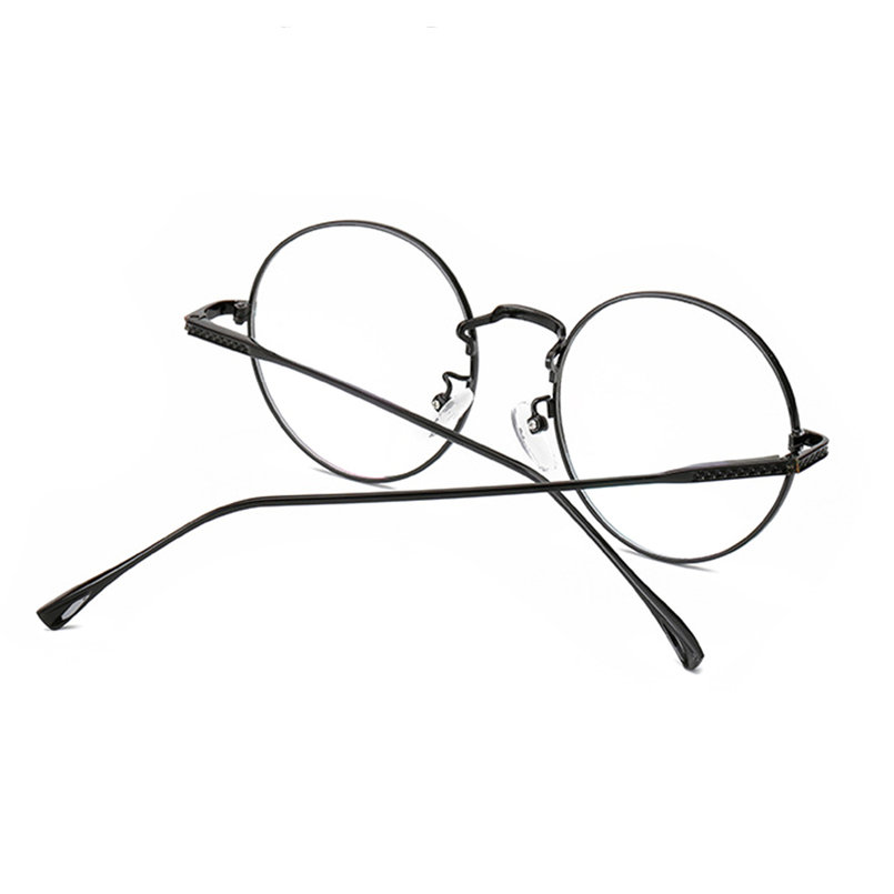 Glasses Frames With Plain Glass : Vintage Eyeglasses Metal Round Frame Green Film Plain ...