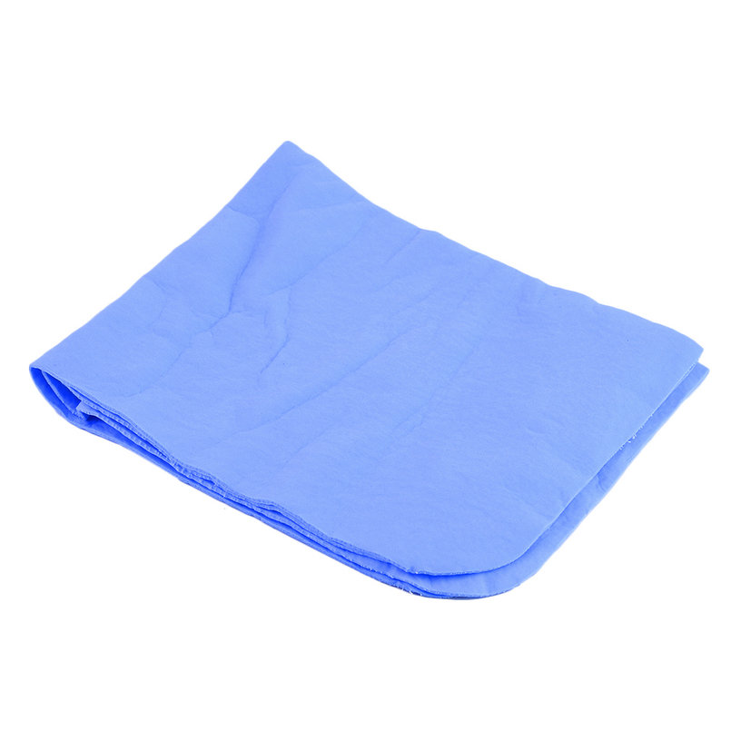 Natural Soft Chamois Leather Car Cleaning Cloth Washing