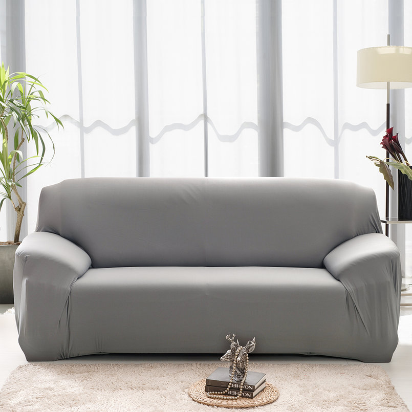 Elasticity couch sectional sofa furniture slipcover 1 2 3 for Sectional sofa covers ebay