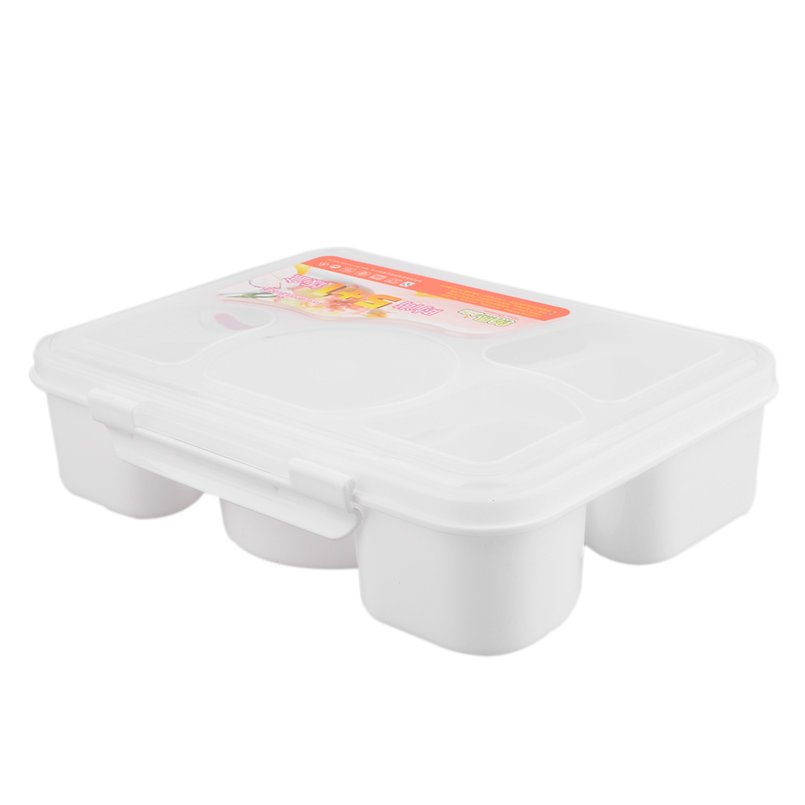 portable microwave lunch box for kids 5 1 food container plastic food box i6 ebay. Black Bedroom Furniture Sets. Home Design Ideas
