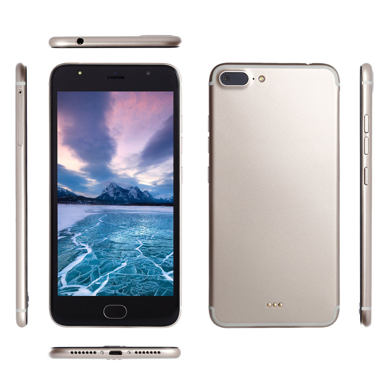 5.5 Inch 3G MT6580A Chipset Dual SIM Card Dual Standby Phone For Android CG Good