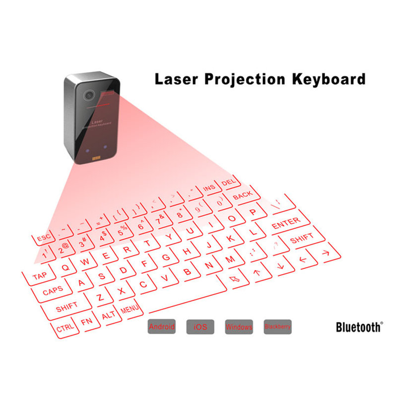 Mini Portable Laser Virtual Projection Keyboard And Mouse ...
