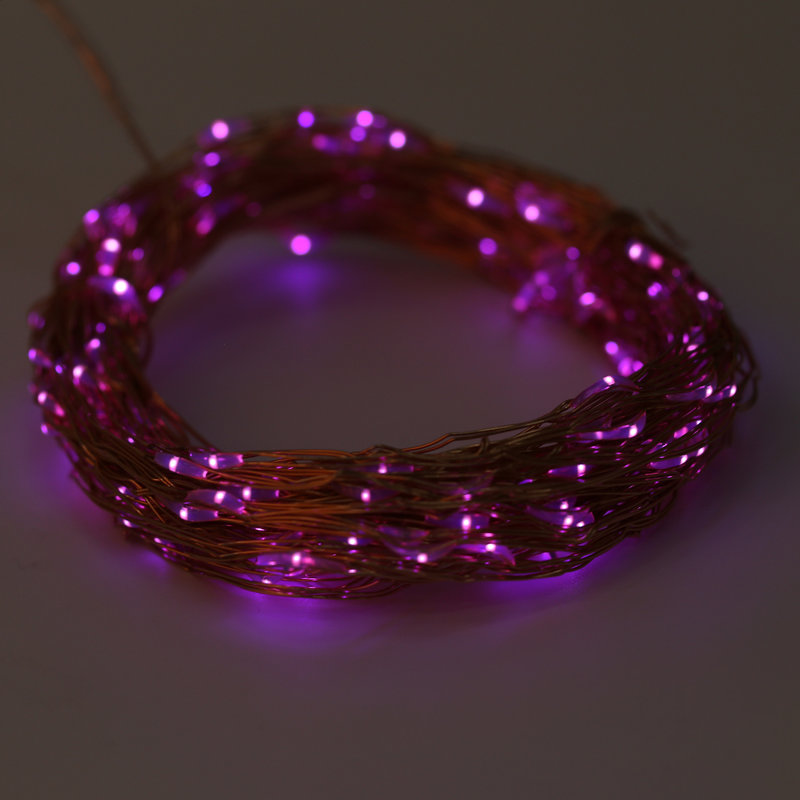Solar Powered Warm White 20M 200LED Copper Wire Outdoor String Fairy Light DQ eBay