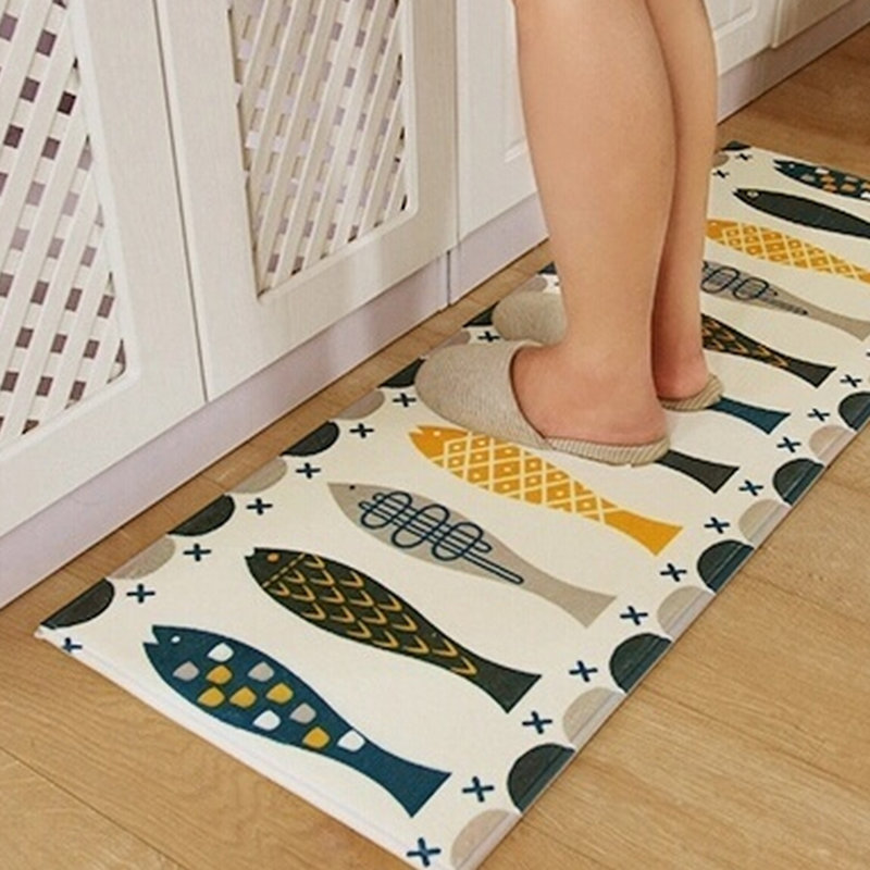 Multicolor Rugs Bedroom Kitchen Doormat Bathroom Toilet