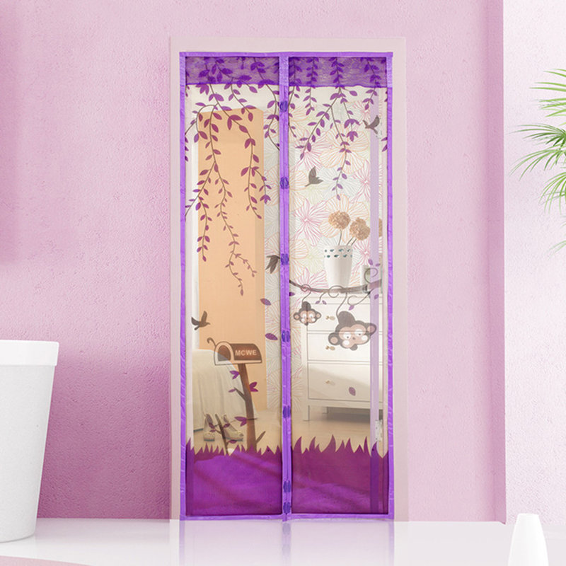 New Magnetic Mesh Screen Door Mosquito Net Curtain Protect From Insects Au Ebay