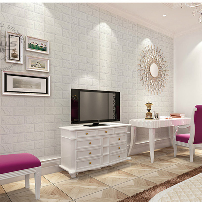 3d brick pattern wallpaper bedroom living room modern wall for Modern 3d wallpaper for bedroom