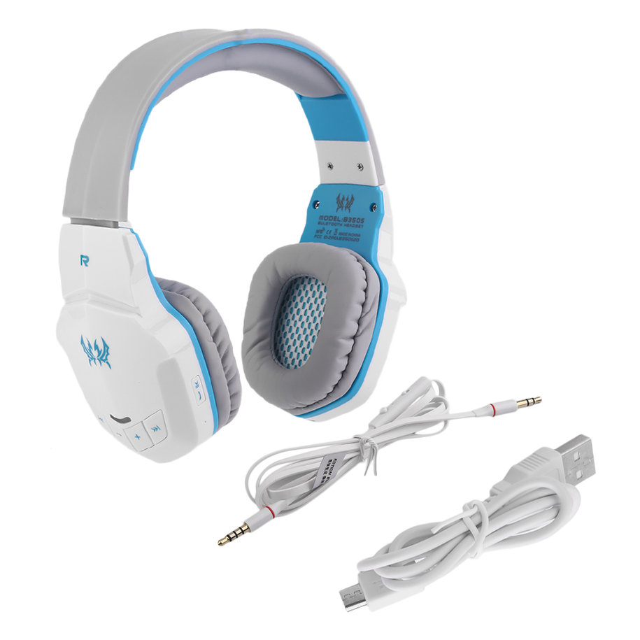kotion each b3505 gaming headphones bluetooth surround sound noise isolation. Black Bedroom Furniture Sets. Home Design Ideas