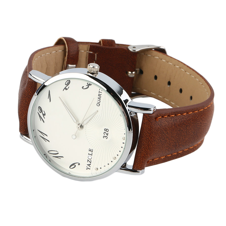 style quartz watches casual business leather