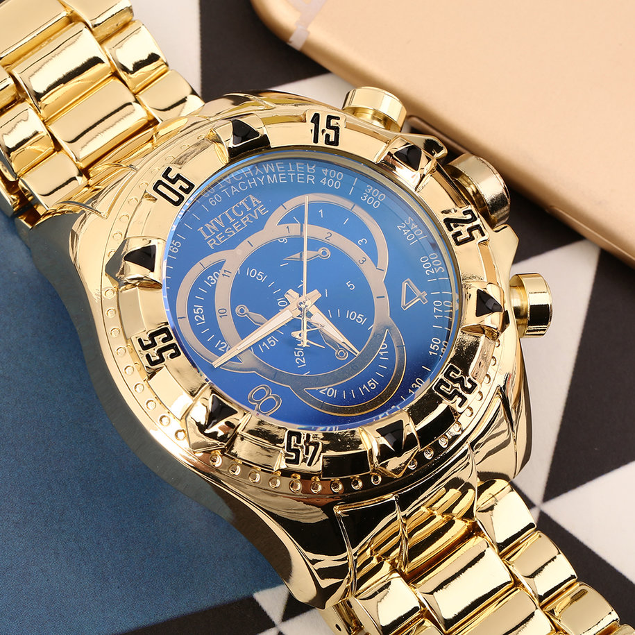 New Fashionable Design Men Luxury Quartz Stainless Steel Wrist Watches OE