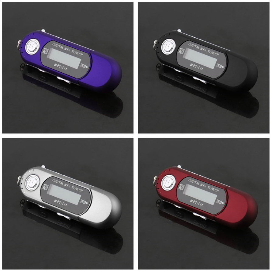 8gb usb 2 0 flash drive lcd mp3 music player with fm radio. Black Bedroom Furniture Sets. Home Design Ideas