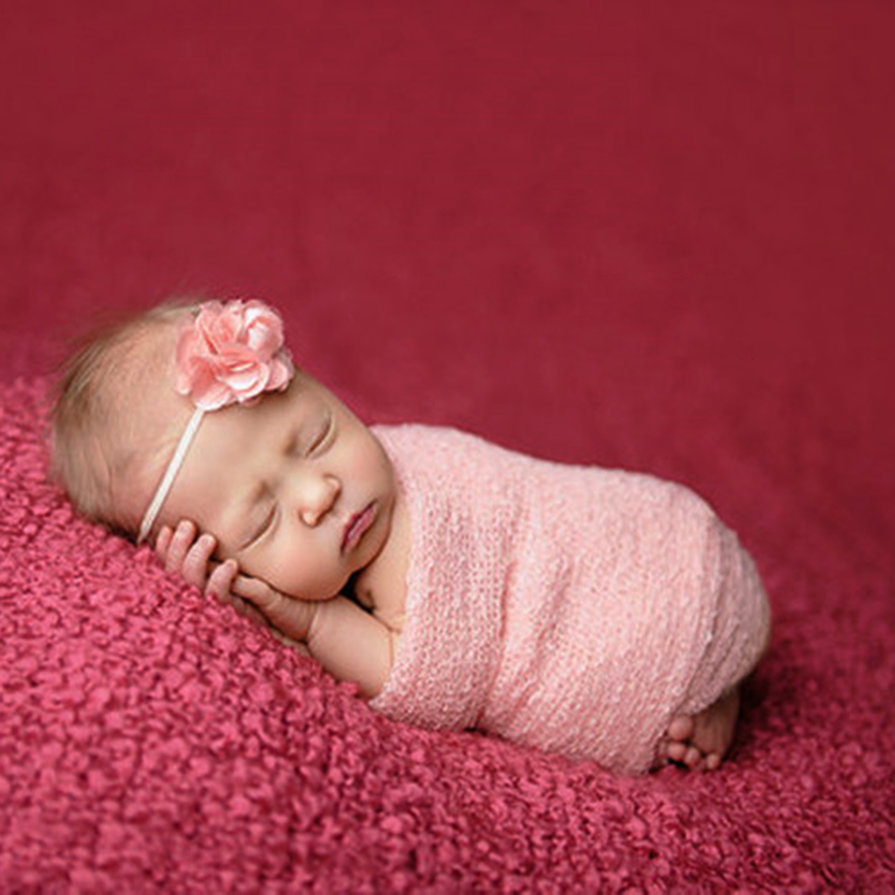 Knitting For Newborn Photography : Newborn baby photography props blanket rayon stretch knit