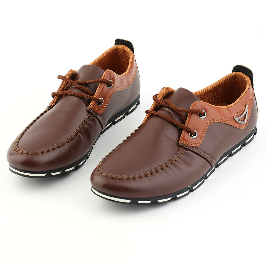 trendy breathable shoes leather summer casual