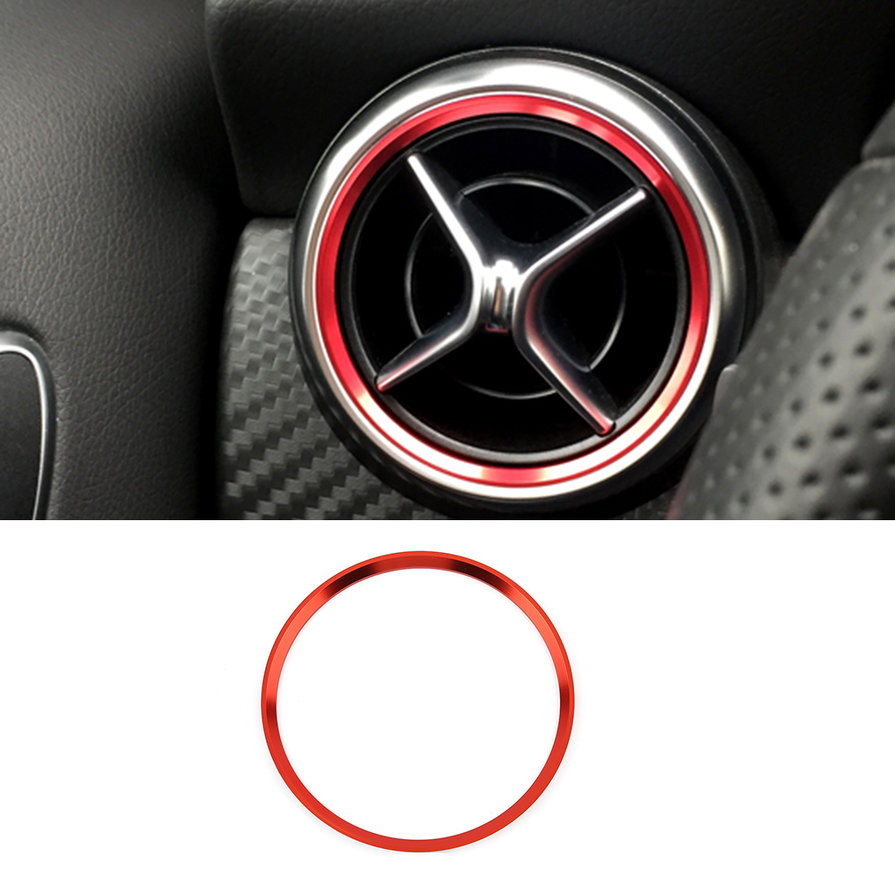 Car air condition air vent outlet ring trim decoration for for Mercedes benz car air freshener