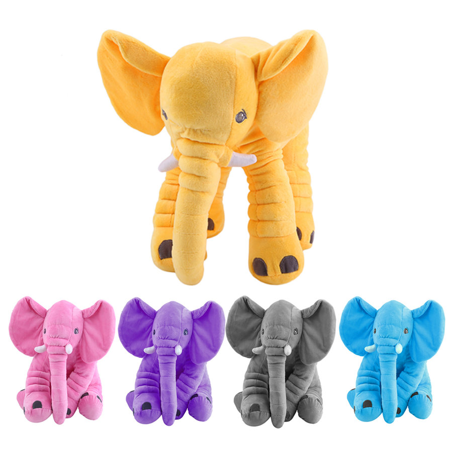 Toys For Elephant : Animal cushion kids baby sleeping soft pillow toy cute