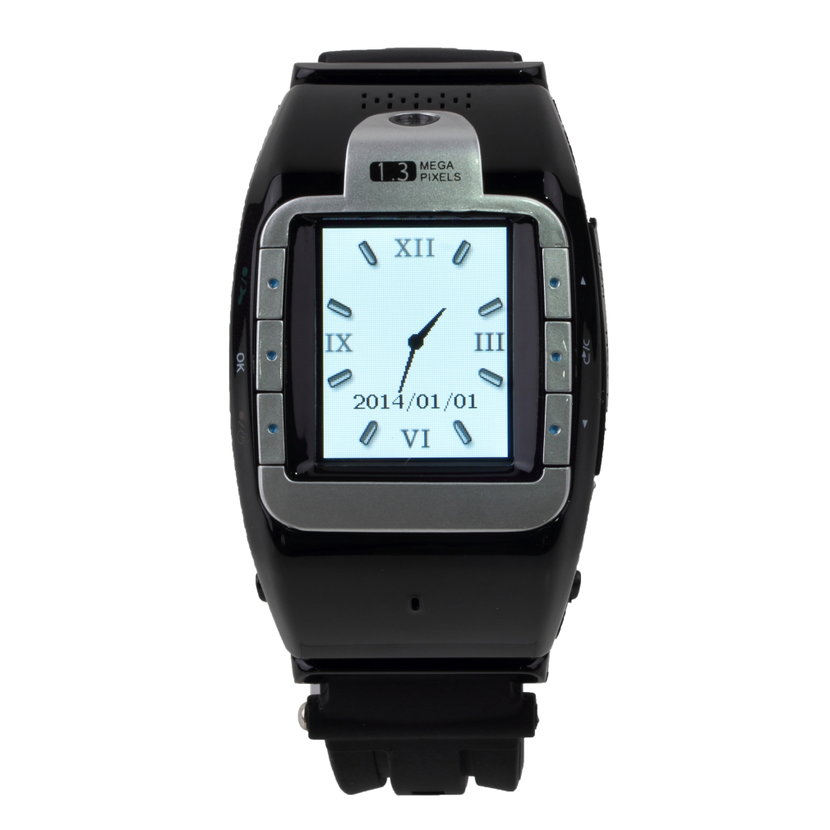 1.4inch Wrist Watch Mobile Cell Phone&Camera MP3 MP4 ...