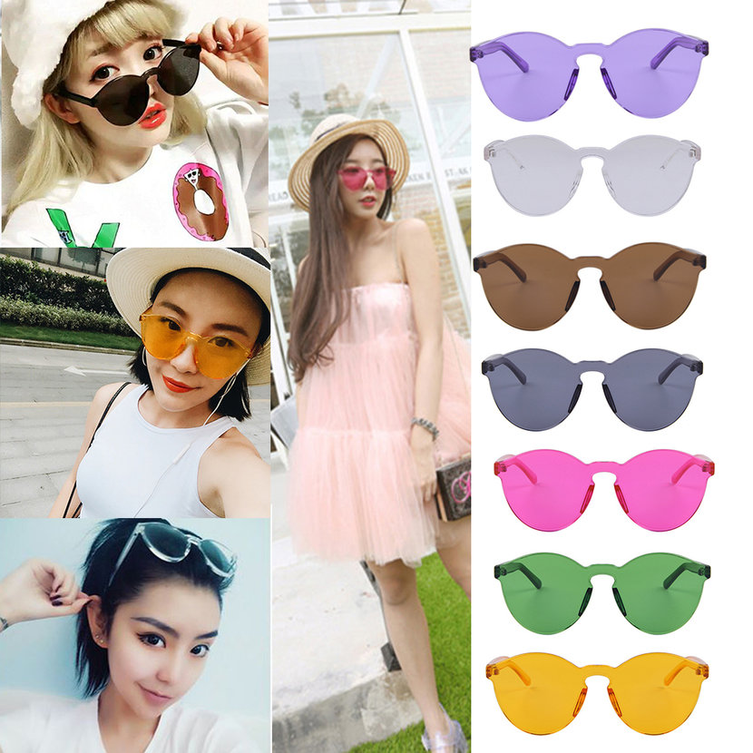 Glasses Without Frame On Top : The New Korean Outdoor Plastic Sunglasses Retro Glasses ...