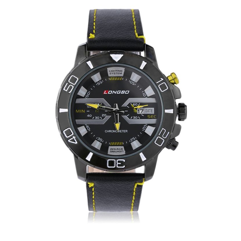 trendy longbo quart watches unique sports