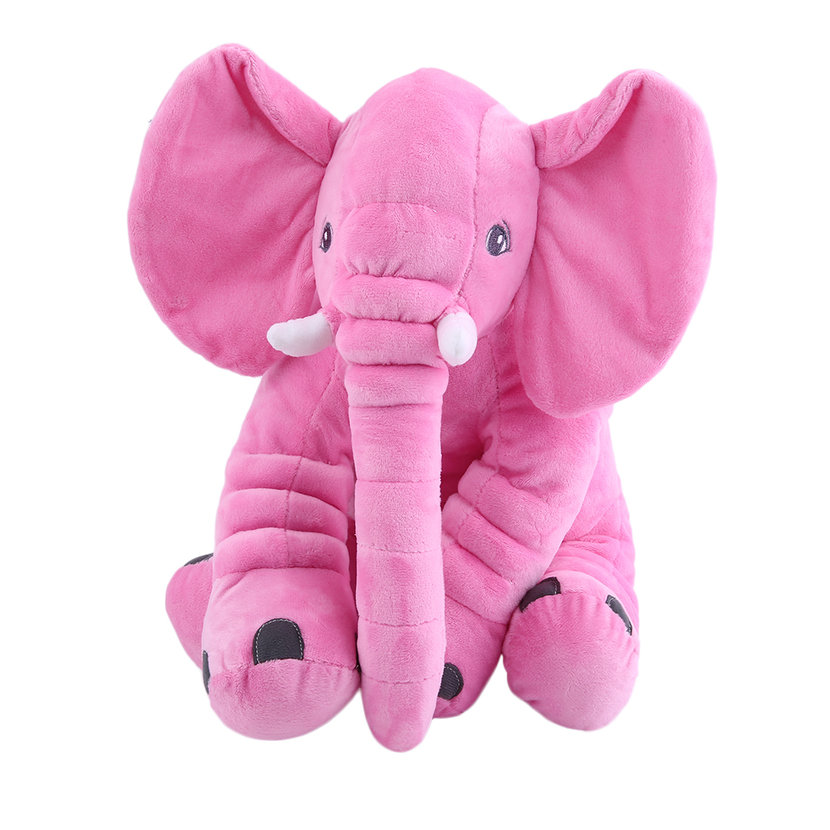 Cute Pillow For Kid : Stuffed Animal Cushion Kids Baby Sleeping Soft Pillow Toy Cute Elephant CottonCC