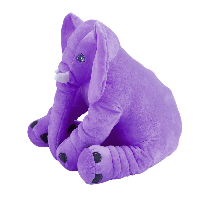 Stuffed Animal Cushion Kids Baby Sleeping Soft Pillow Toy Cute Elephant LC eBay